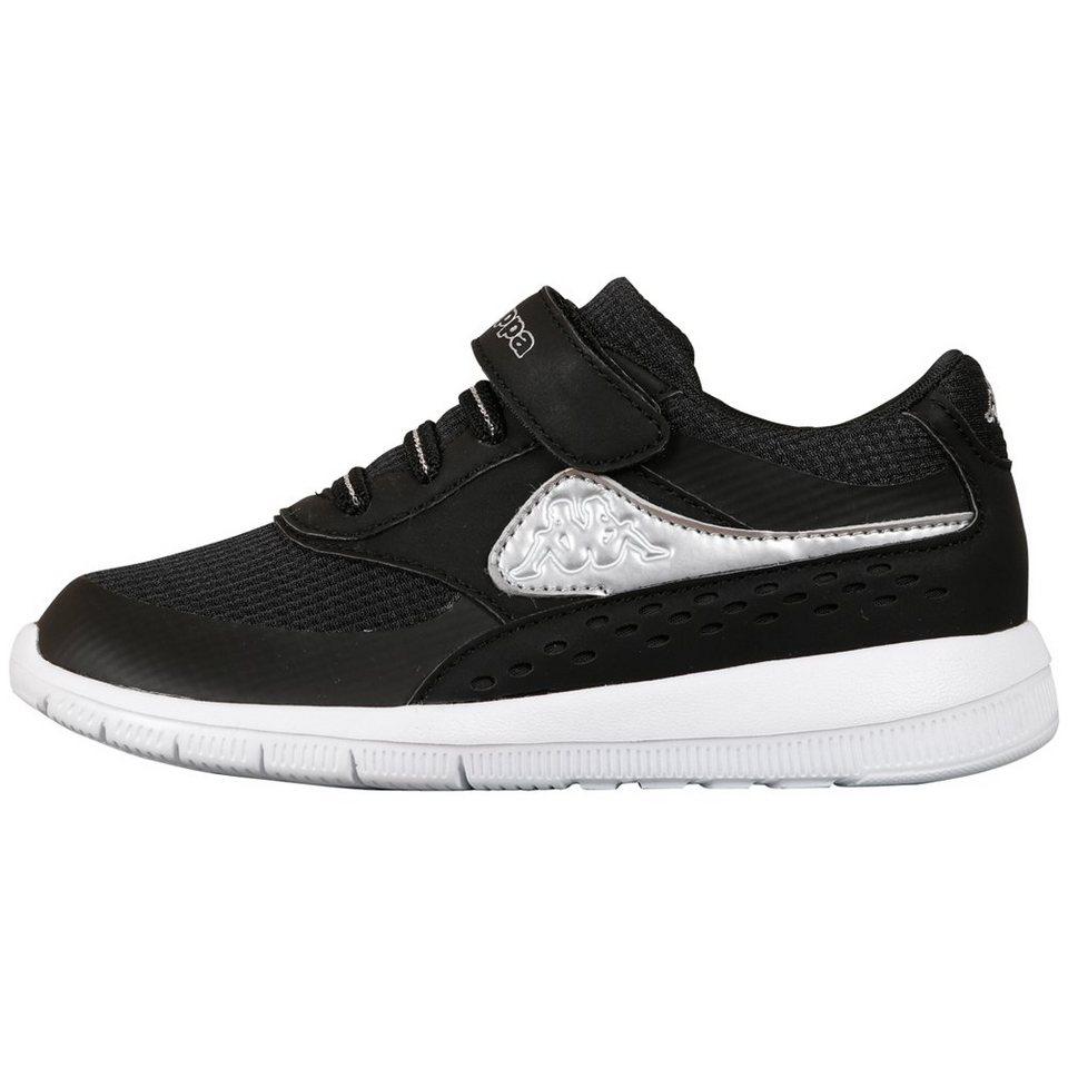 KAPPA Schuh »MILLA KIDS« in black/silver