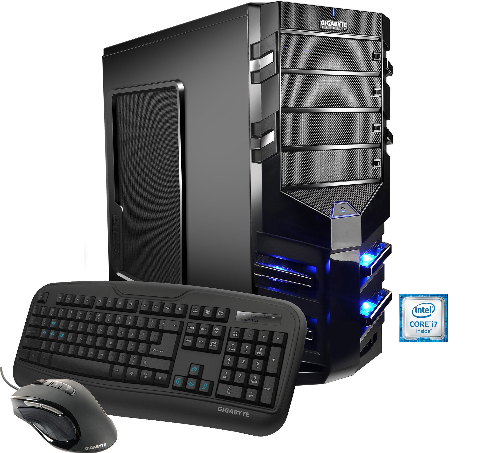 Hyrican Gaming PC Intel® i7-6700, AMD R9 390X 8GB, Windows 10 »Alpha Gaming 4931«