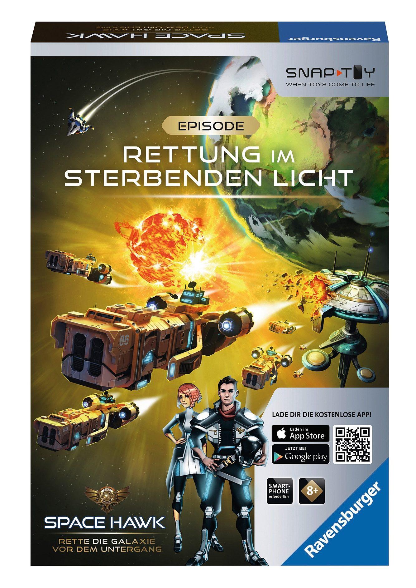 Ravensburger Hybrid Spielzeug, »Space Hawk Episode 3 - Rettung im sterbenden Licht«