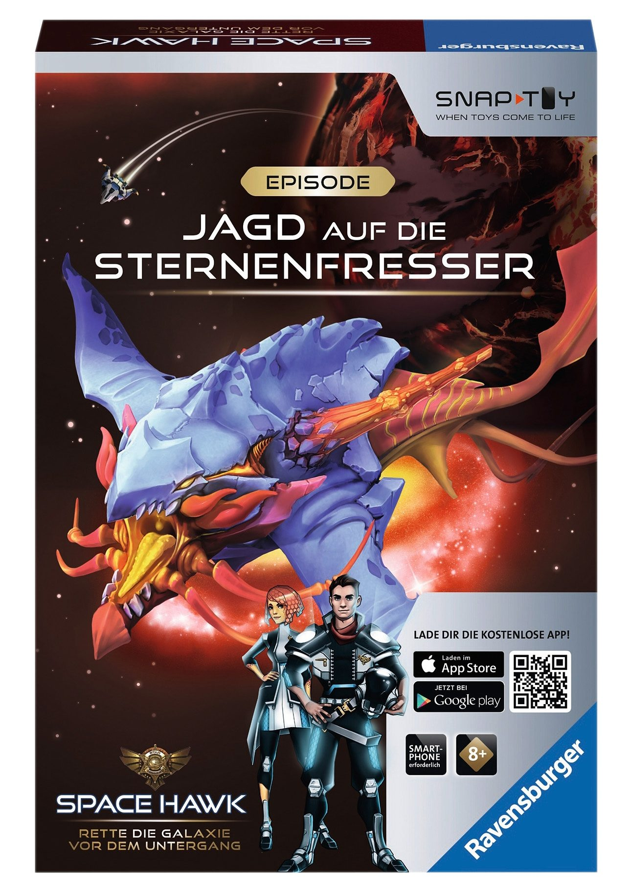 Ravensburger Hybrid Spielzeug, »Space Hawk Episode 2 - Jagd auf die Sternenfresser«