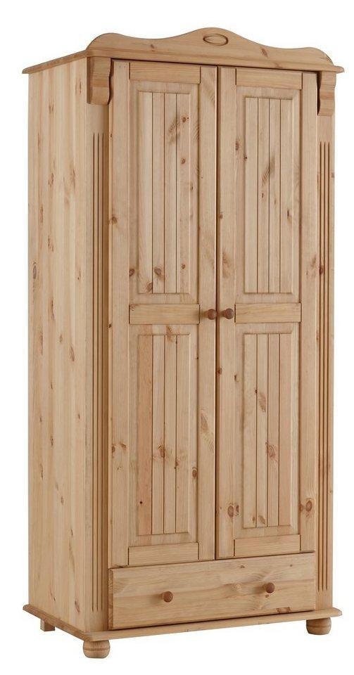 Kleiderschrank Blau Holz : Home affaire kleiderschrank ?adele? kaufen otto