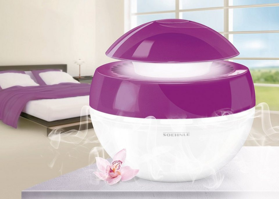 Luftbefeuchter »Airfresh Plus Purple« in lila