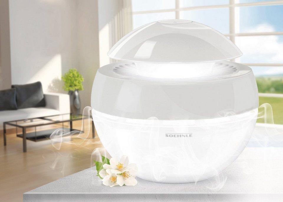 Luftbefeuchter »Airfresh Plus hellgrau« in weiß
