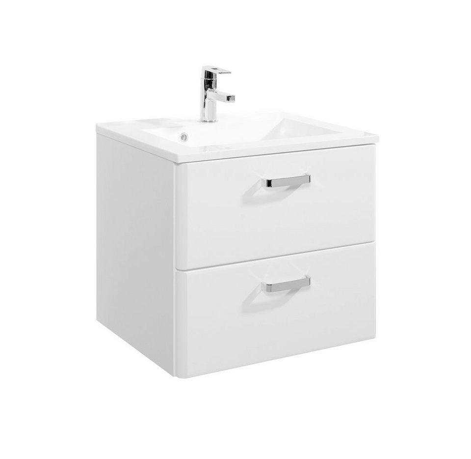 Waschtisch »Mailand«, Breite 60 cm, (2-tlg.) in weiß
