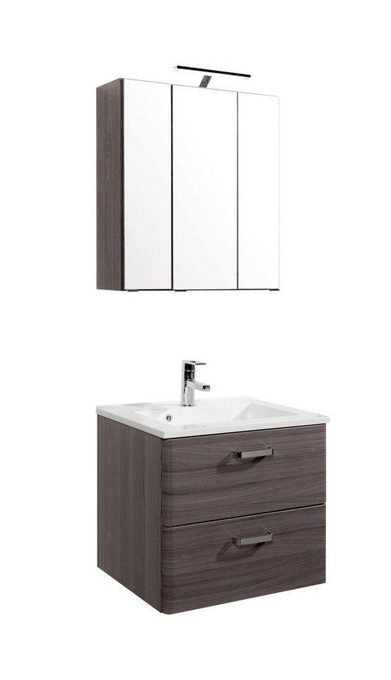 held m bel waschplatz set mailand breite 60 cm 2 tlg online kaufen otto. Black Bedroom Furniture Sets. Home Design Ideas