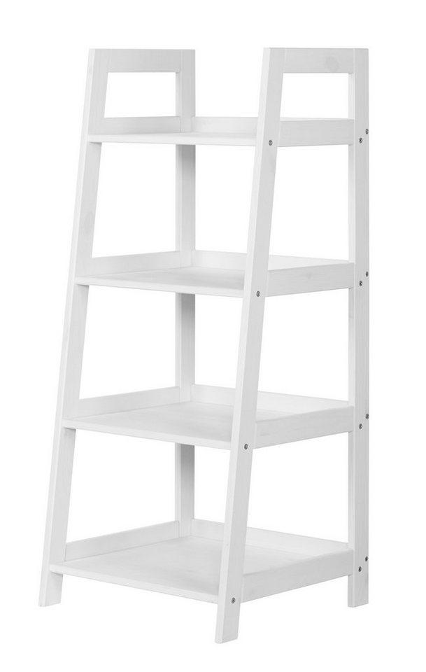 Badregal »Amrum« 4 Fächer  in weiß