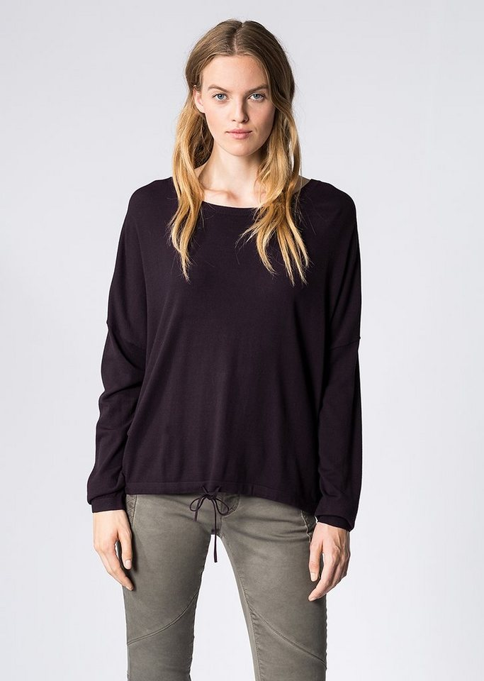 Marc O'Polo Pullover in 612 dark plum