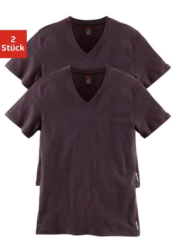 levi 39 s shirts 2 st ck mit v ausschnitt kaufen otto. Black Bedroom Furniture Sets. Home Design Ideas
