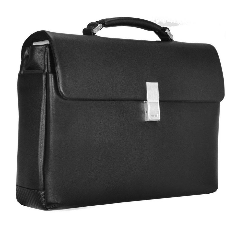 porsche design cl2 2 0 briefbag fs aktentasche leder 40 cm. Black Bedroom Furniture Sets. Home Design Ideas