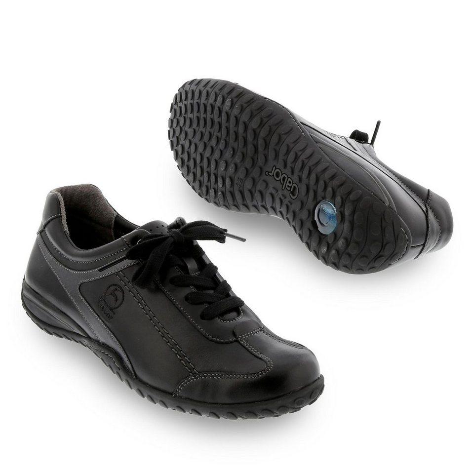 Gabor Comfort Sneaker in schwarz