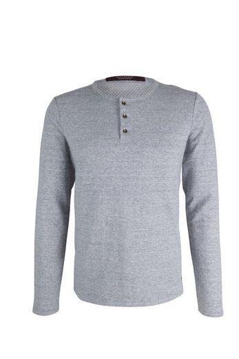 Scotch & Soda Pullover Langarmshirt grau