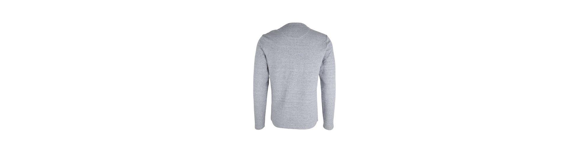 Suchen Sie Nach Verkauf Scotch & Soda Pullover Langarmshirt grau Verkauf Shop-Angebot Billig Verkauf Perfekt Bester Platz Verkauf Rabatt gBmfGdJ