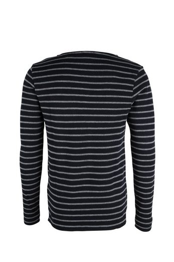 Scotch & Soda Pullover Crewneck tee in structered quality
