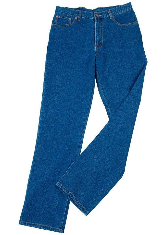 Arbeitsjeans in jeansblau