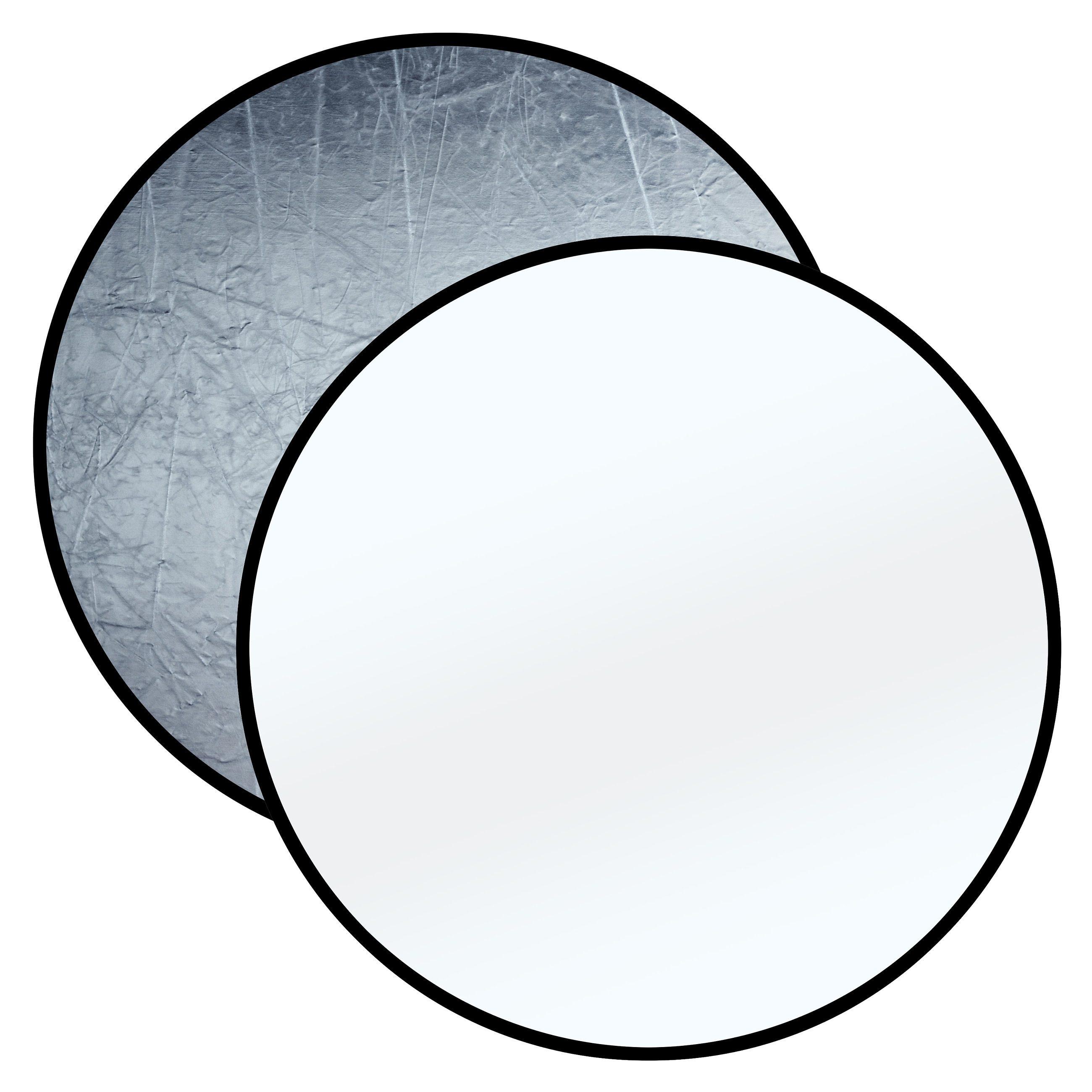 Bresser Fotostudio »BRESSER BR-TR8 Faltreflektor silber/weiß 110cm run«