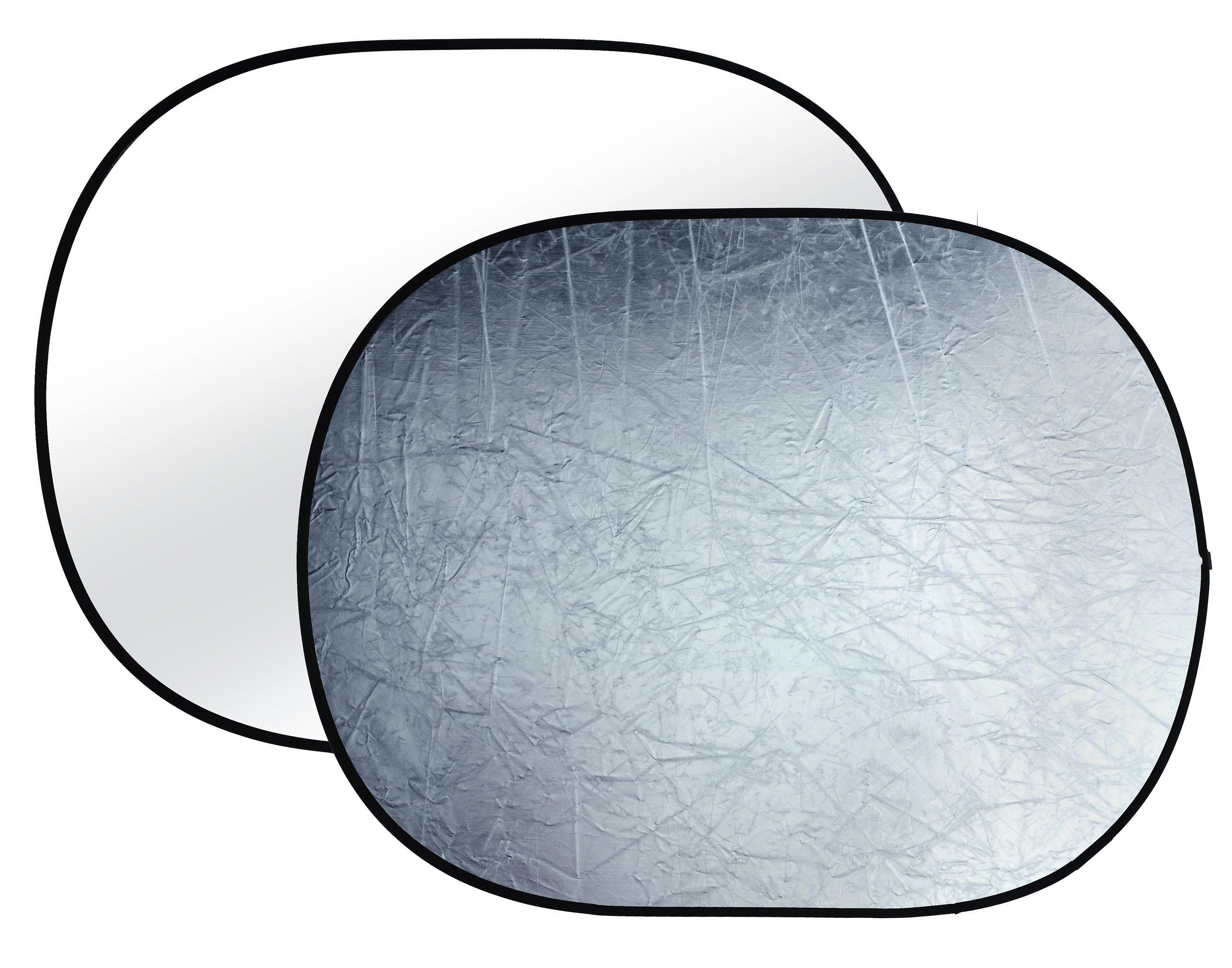 BRESSER Fotostudio »BRESSER BR-TR8 Faltreflektor silber/weiß 150x200cm«
