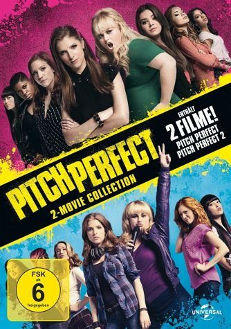 DVD »Pitch Perfect / Pitch Perfect 2 (2 Discs)«