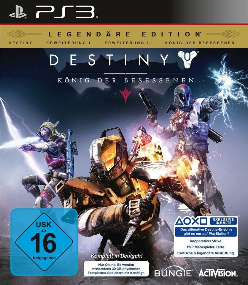 Activision Playstation 3 - Spiel »Destiny - König der Besessenen (Legendäre Edition)«