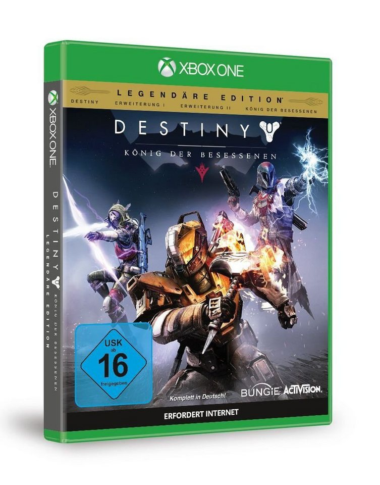 activision xbox one spiel destiny k nig der. Black Bedroom Furniture Sets. Home Design Ideas