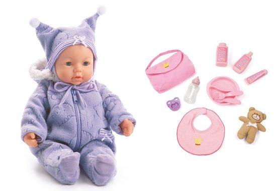 Bayer Babypuppe »Piccolina Magic Eyes«, mit Funktion und Zubehör