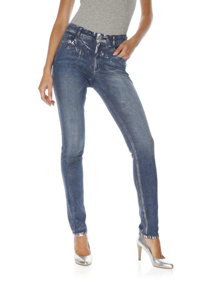 Bodyform-Jeans in blue denim