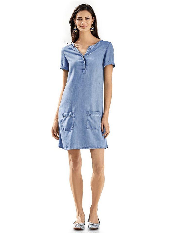Jeanskleid in blue denim