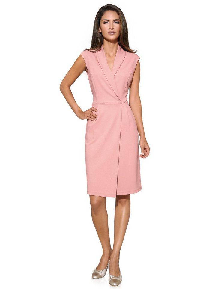 Jerseykleid in rosa