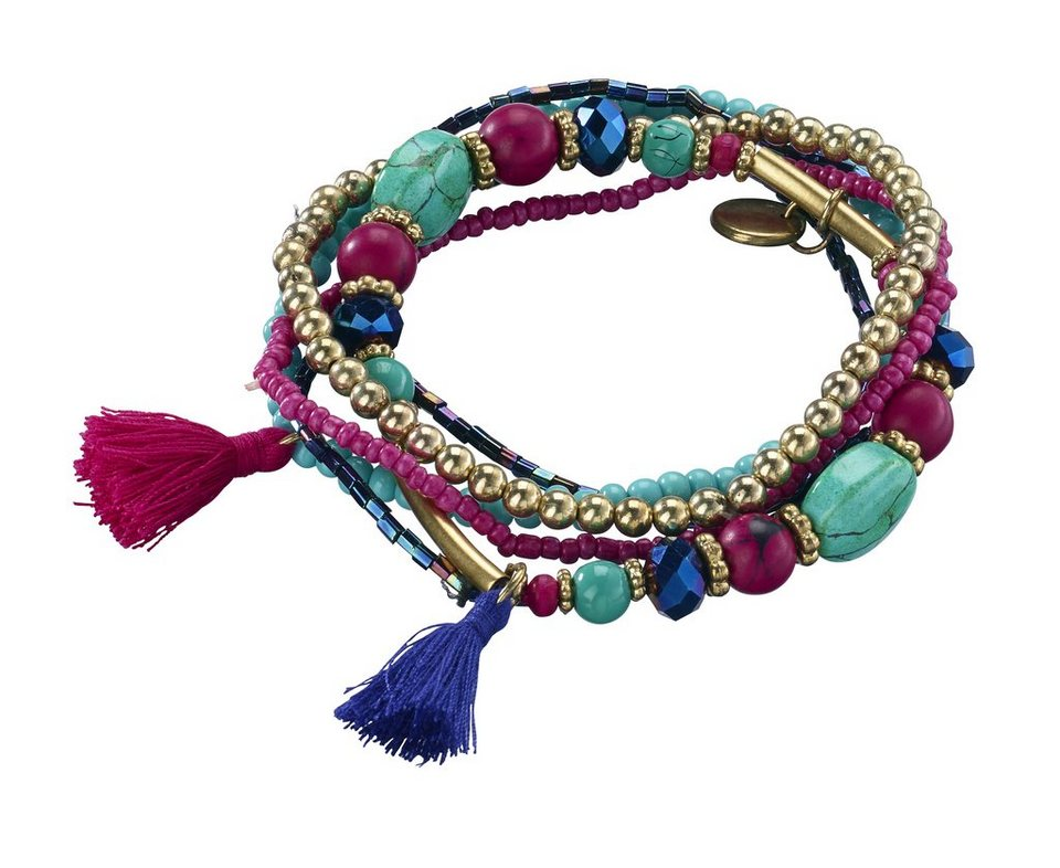 Armband in bunt
