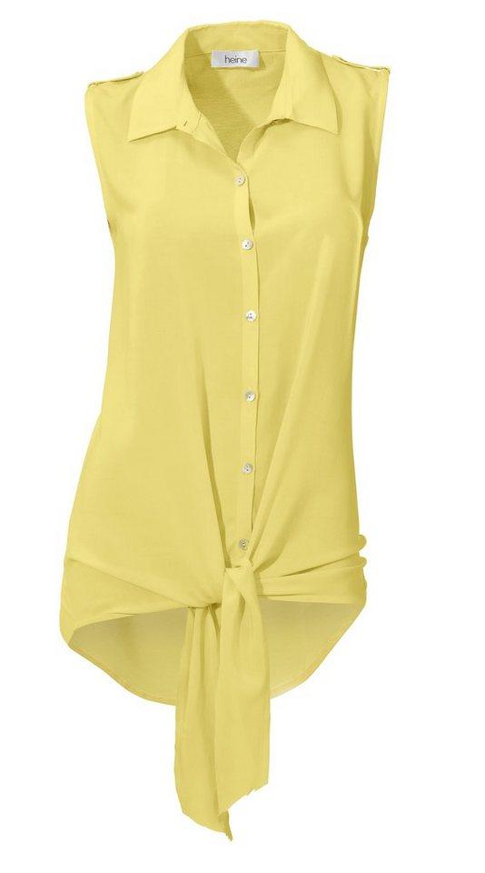 Blusenshirt in gelb