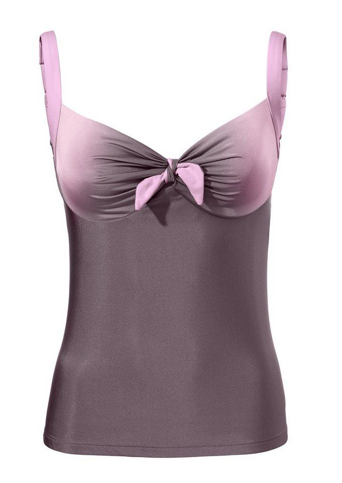Bodyform-Tankini-Oberteil in mauve/rosé