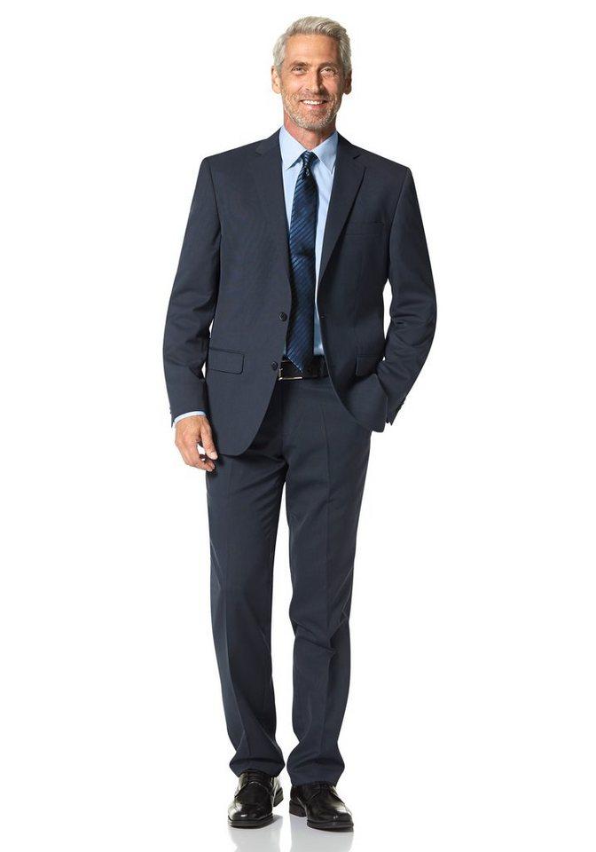 Studio Coletti Anzug in rauchblau-gemustert
