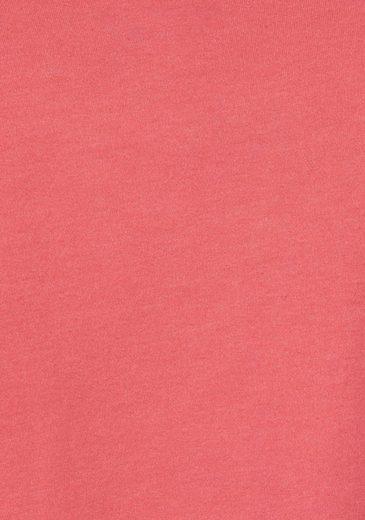 KangaROOS Kapuzensweatshirt, mit großem Print auf dem Ärmel