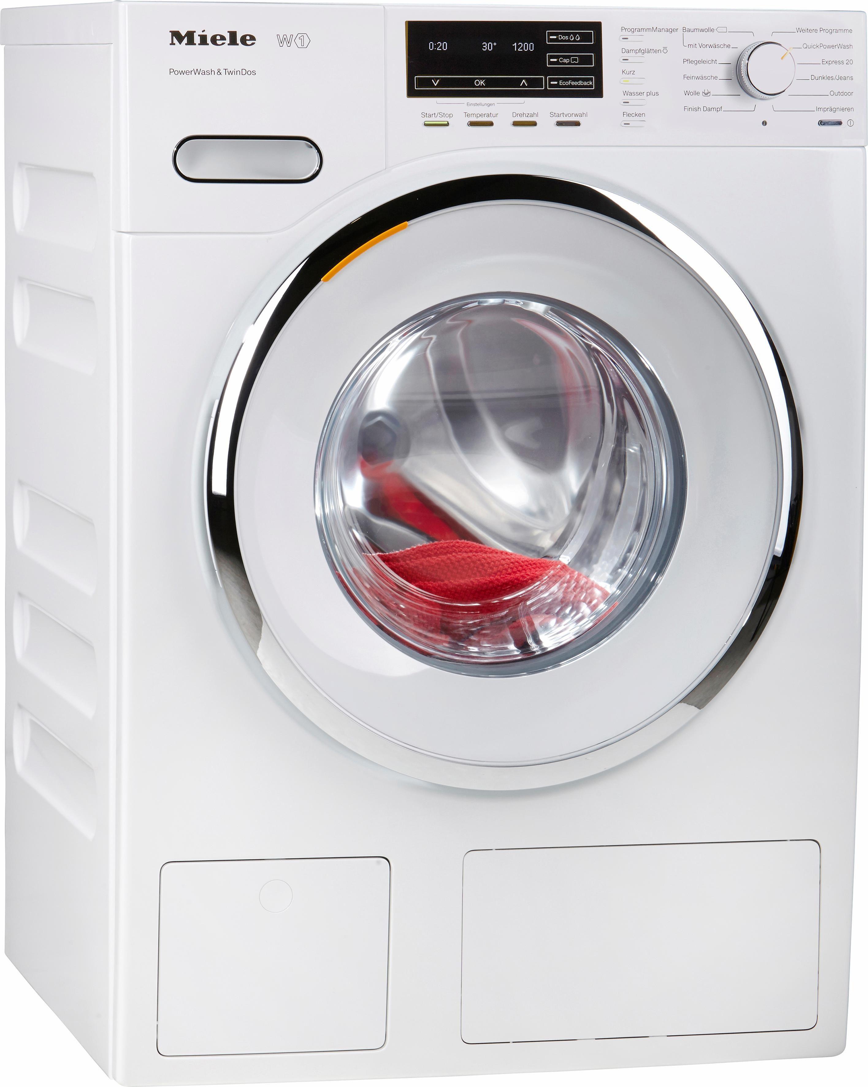 MIELE Waschmaschine WMH 261 WPS, A+++, 8 kg, 1600 U/Min