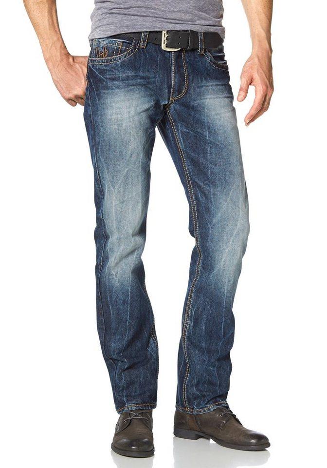 Bruno Banani Straight-Jeans »Billy« in dark-used