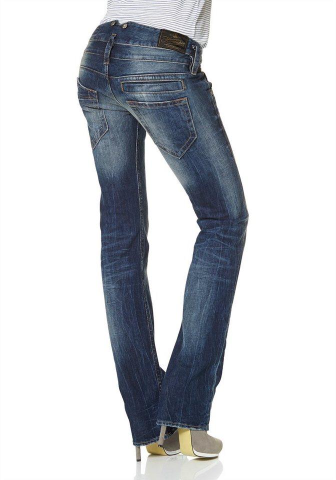 herrlicher straight jeans pitch straight mit stretch anteil online kaufen otto. Black Bedroom Furniture Sets. Home Design Ideas