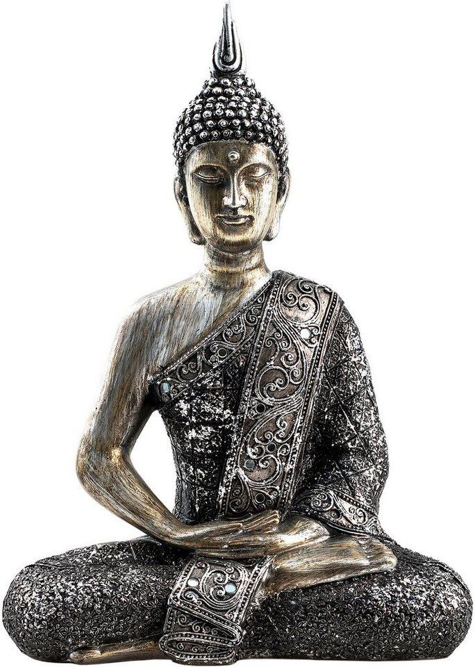 home affaire dekofigur buddha paduma kaufen otto. Black Bedroom Furniture Sets. Home Design Ideas