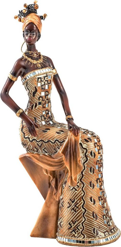 home affaire dekofigur afrikanische frau sitzend otto. Black Bedroom Furniture Sets. Home Design Ideas