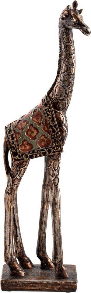 Home affaire Dekofigur Giraffe »Olaf« in braun