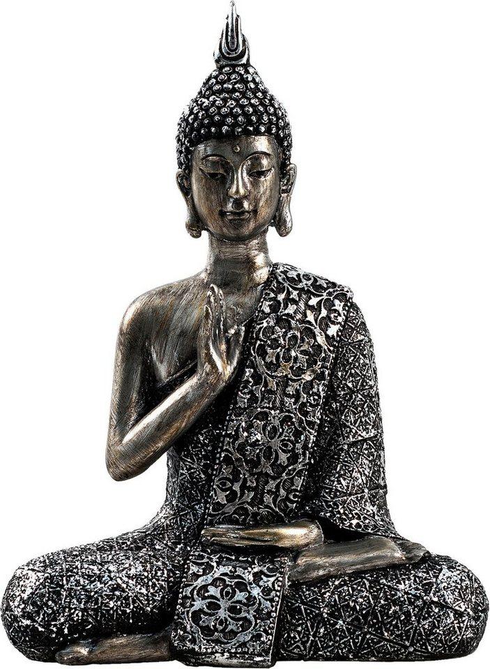 home affaire dekofigur buddha paduma sitzend otto. Black Bedroom Furniture Sets. Home Design Ideas