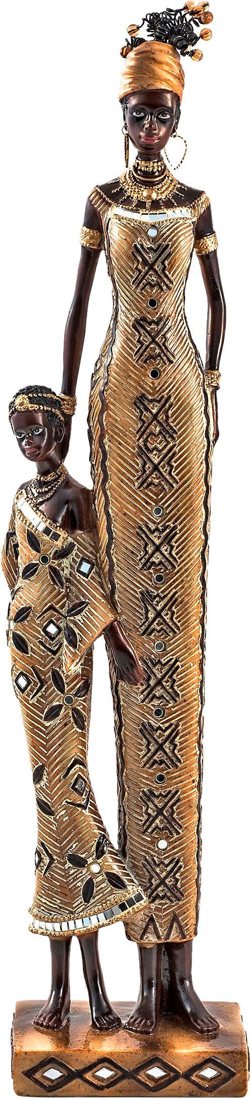 Home affaire Dekofigur »Afrikanische Frau mit Kind«