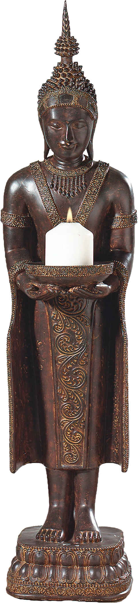 pajoma Kerzenständer »Buddha«