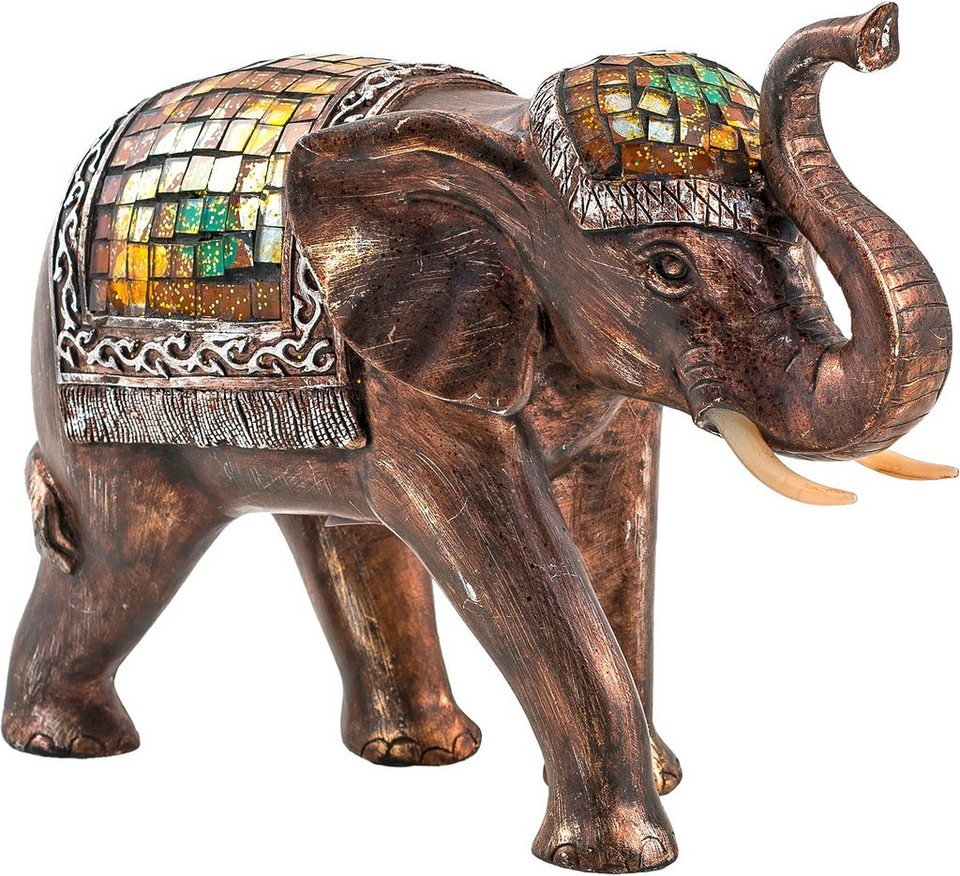 Home affaire Dekofigur Elefant »Baba« in braun