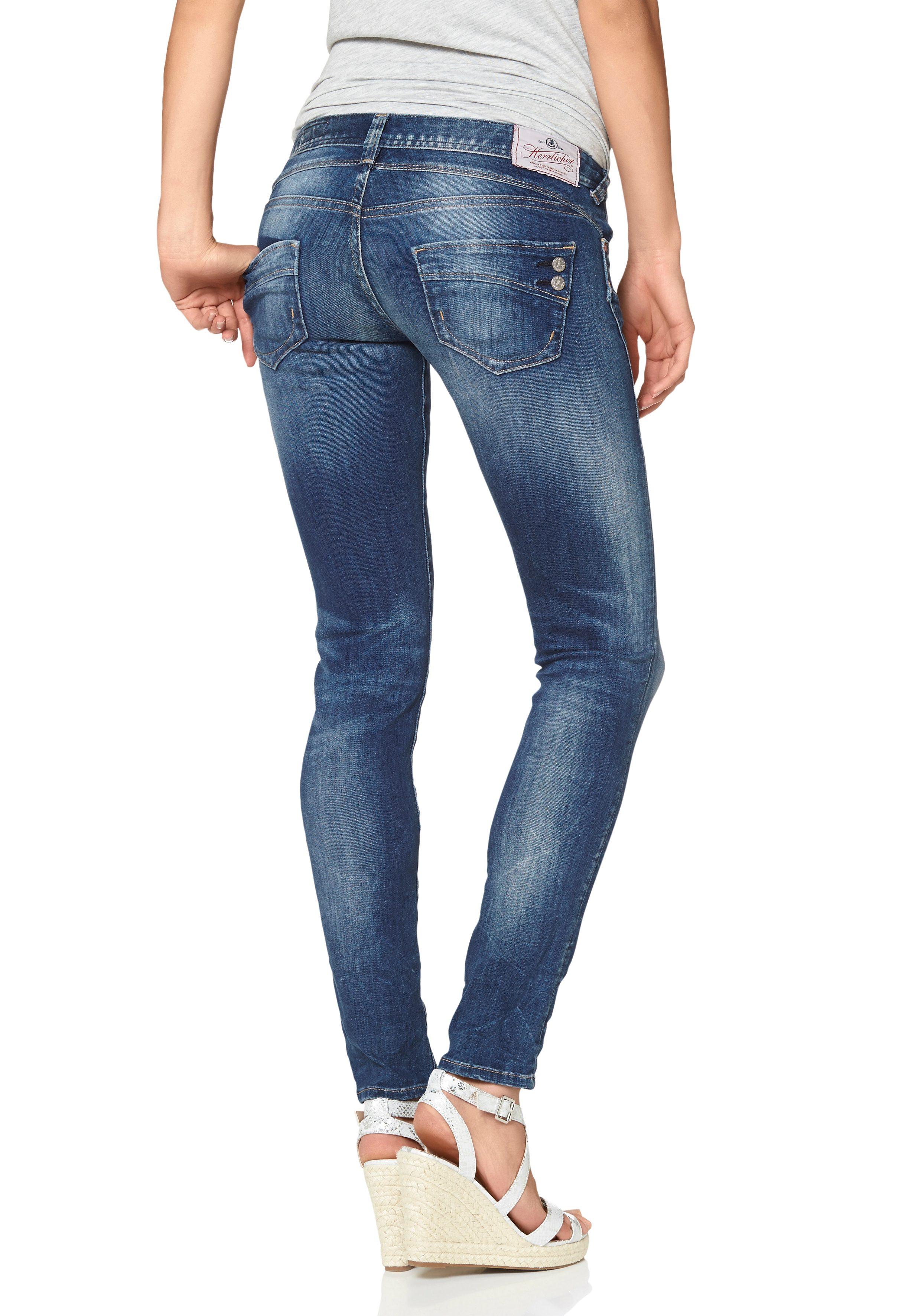 Herrlicher Slim fit Jeans »PIPER SLIM« Low Waist mit maximalem Tragekomfort online kaufen | OTTO