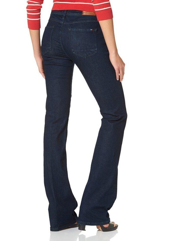 Hilfiger Denim Bootcut-Jeans »Seventies« mit Bügelfalte in blue