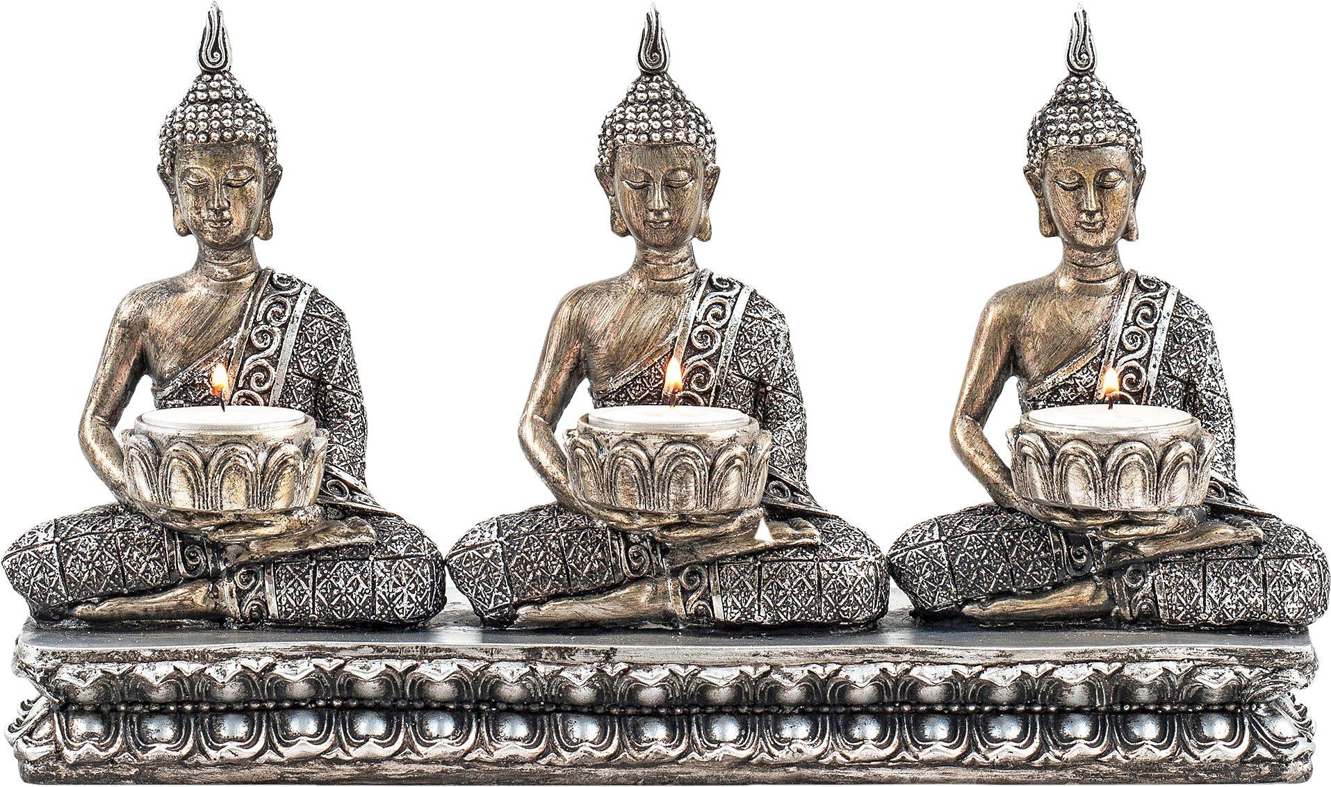 Home affaire Teelichthalter Buddha »Padma«