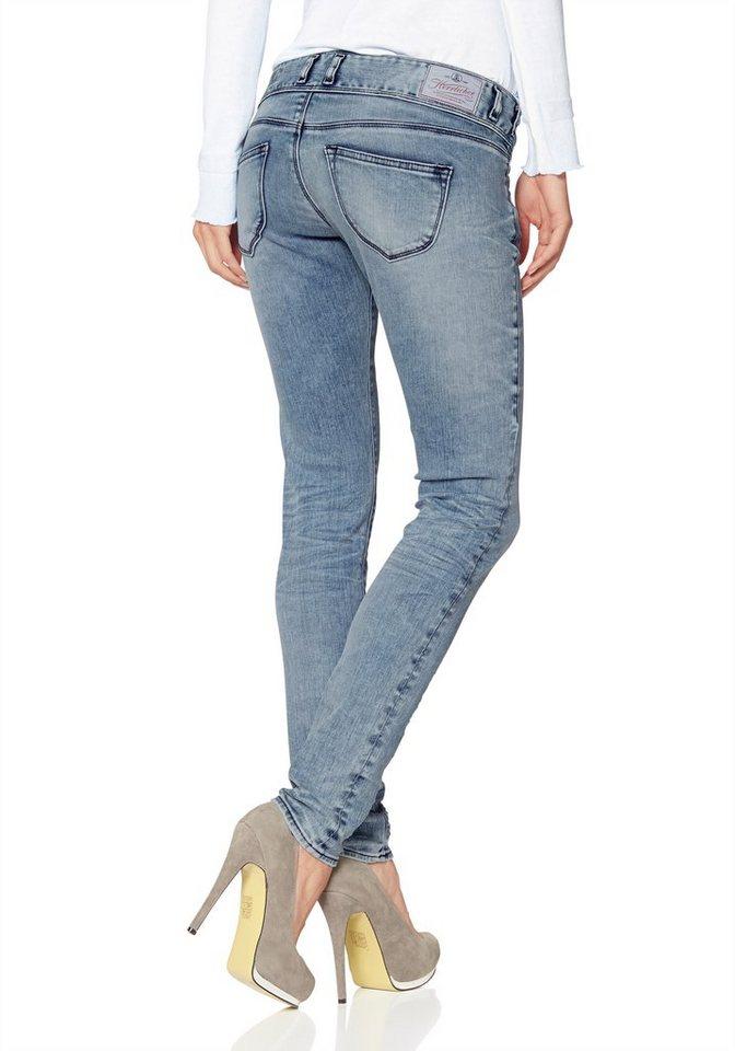 Herrlicher Slim-fit-Jeans »Birdy« in blue-bleached