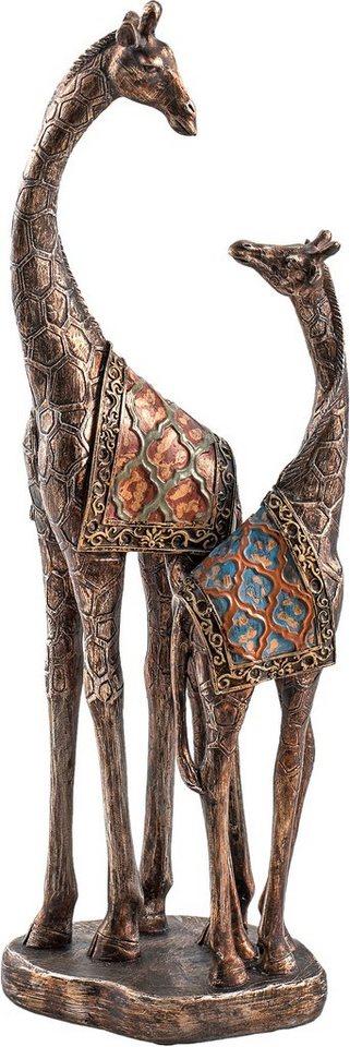 Home affaire Dekofigur Giraffenpaar »Olivia« in braun
