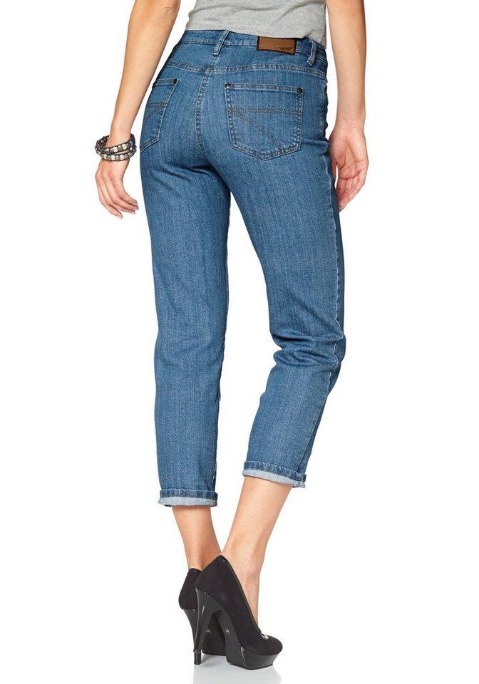 Arizona 7/8-Jeans »Annett« High Waist in bleached