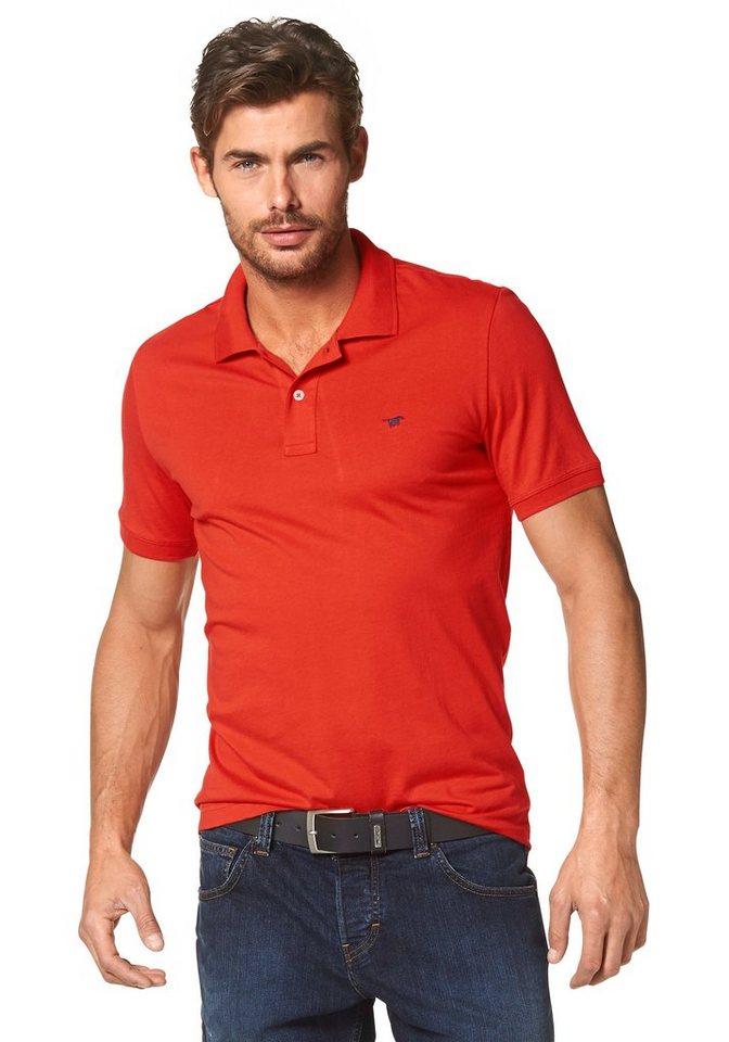Mustang Poloshirt in orange