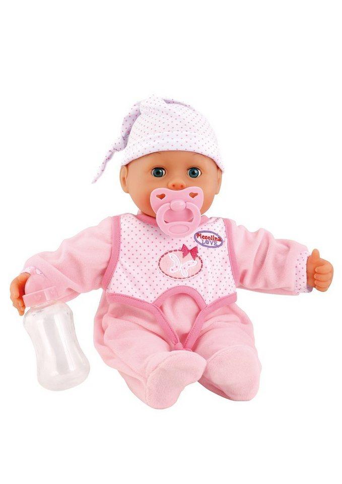Bayer Design Babypuppe, »Piccolina - Laugh & Cry birthday Set«